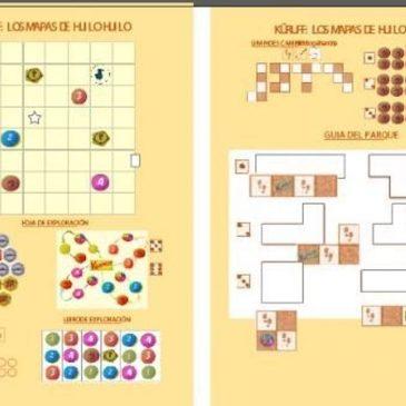 Print and Play: Küruff – Los mapas de Huilo Huilo