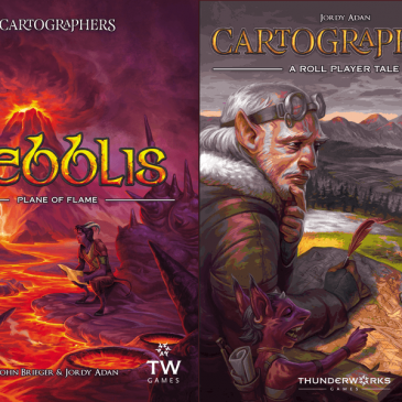 Novedades: Cartographers Map Pack 1: Nebblis – Plane of Flame