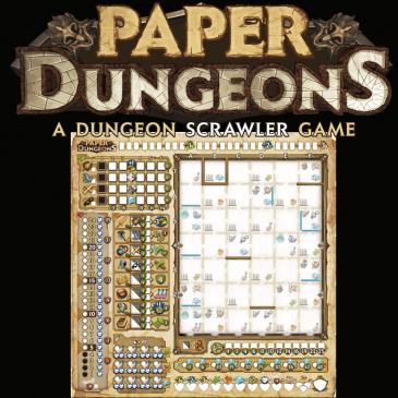 Reglas: Paper Dungeons: A Dungeon Scrawler Game