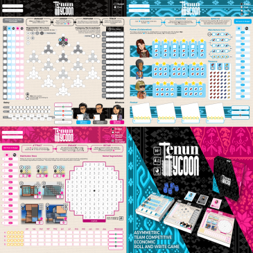 Print and Play: Tenun Tycoon