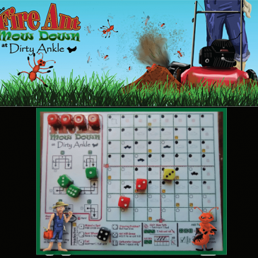 Print and Play: The Fire Ant Mow Down at Dirty Ankle