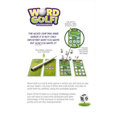 Print and Play: Word Golf Tournament