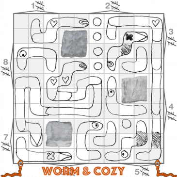 Print and Play: Worm & Cozy