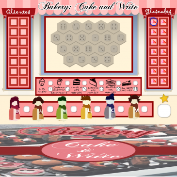 Print and Play: Bakery: Cake & Write