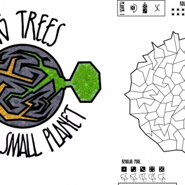 Print and Play: Big Trees on a Small Planet