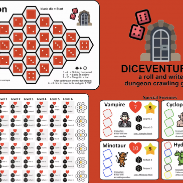 Print and Play: Diceventures