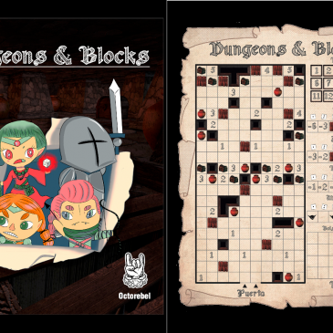 Print and Play: Dungeon & Blocks
