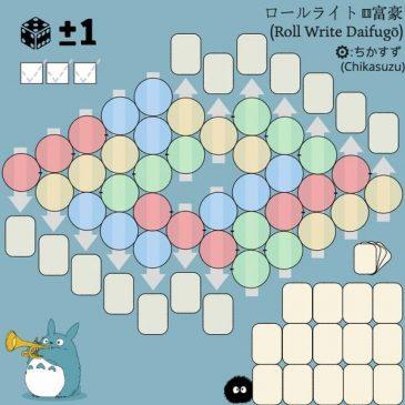 Novedades 2020: ロールライト⚅富豪 (Roll Write Daifugō)