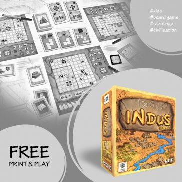 Print and Play: Indus 2500 BCE