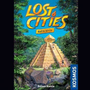 Novedades 2021: Lost Cities: Roll & Write
