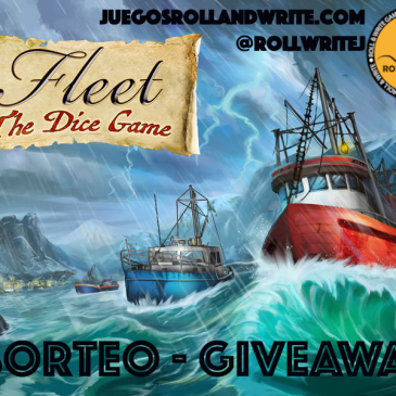 Sorteo: Fleet: The Dice Game + Expansión Dicey Waters