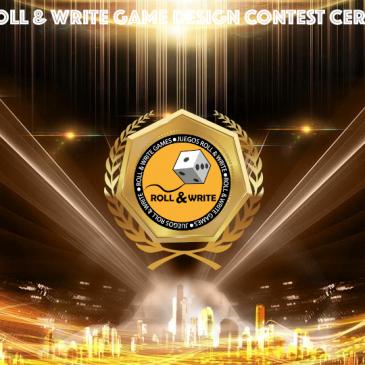 Ceremonia de Entrega de Premios del 6º Concurso de Diseño de Juegos Roll & Write de la BGG