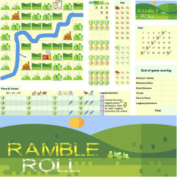 Print and Play: Ramble Roll