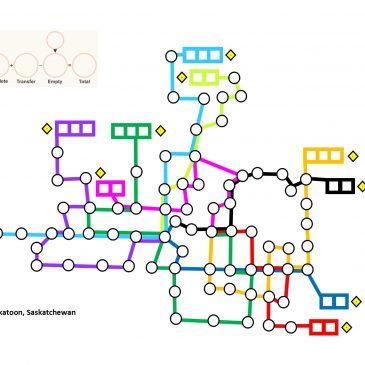 Hojas de Juego: Metro X Saskatoon Map