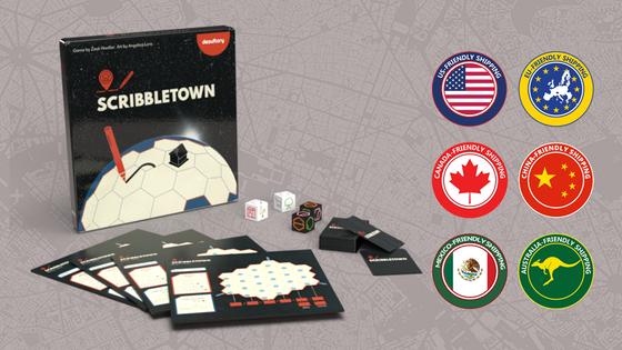 Kickstarter: Scribbletown