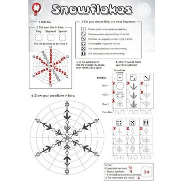 Print and Play: Snowflakes