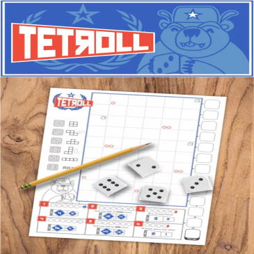 Print and Play: Tetroll