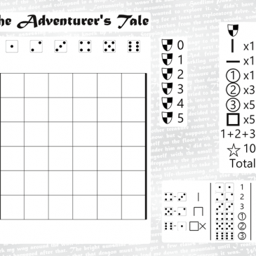 Print and Play: The Adventurer's Tale