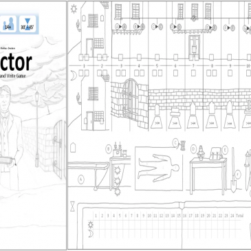Print and Play: Victor A Roll and Write Game