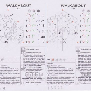 Print and Play: Walkabout