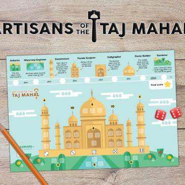 Print and Play: Artisans of the Taj Mahal