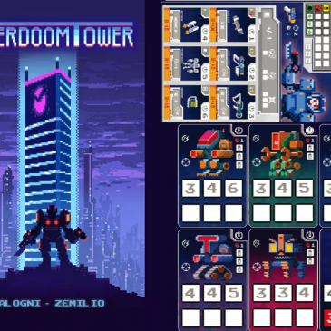 Print and Play: Cyberdoom Tower