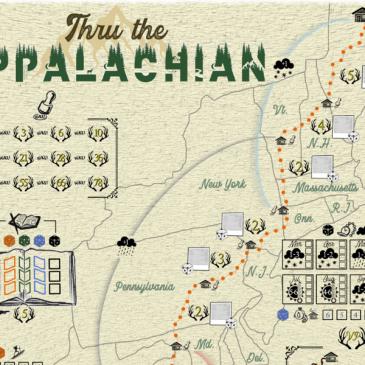 Kickstarter: Thru the Appalachian