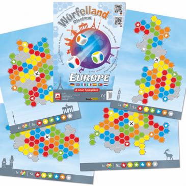 Novedades 2021: Würfelland: Europe