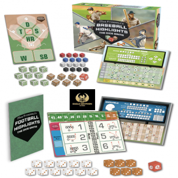 Kickstarter: Baseball Highlights: The Dice Game & Football Highlights: The Dice Game