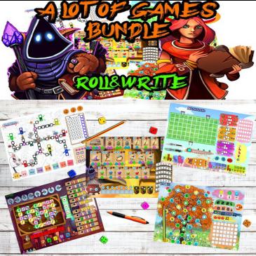 Kickstarter: A Lot Of Games Bundle