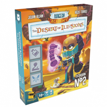 Novedades 2021: Dungeon Academy: The Desert of Illusions