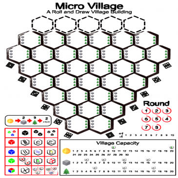 Print and Play: Micro Village